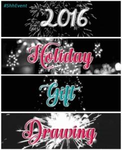 Shh… Holiday Gift Drawing Winners! – L  Loren