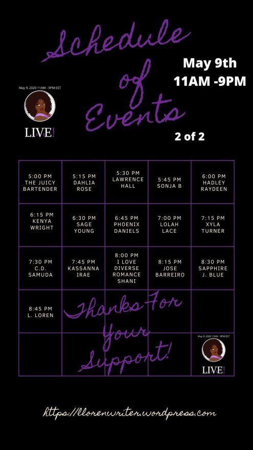LIVE Schedule 1.5