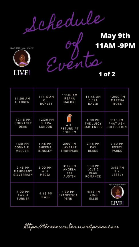 LIVE Schedule 2.5